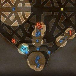 ミニマップのプレイヤーアイコン表示